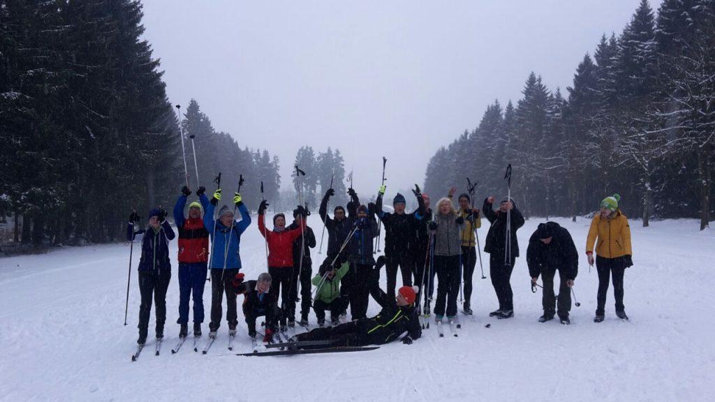 Skilanglaufaktionstag mit Teilnehmern aus ganz NRW!