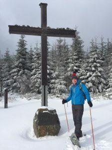 Schneeschuhlaufen am Langenberg (Höchste Berg in NRW)